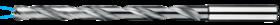 Spiraalboor volhardmetaal lang DIN 340- 11.296 - voor boordiepte 8xD' met cil. schacht volgens DIN 6535-HE' PHD-aanslijping' tophoek 140°