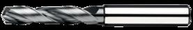 Spiraalboor volhardmetaal standaard DIN 338- 11.245 - DIN 6537-L' voor boordiepte 5xD' met cil. schacht volgens DIN 6535-HA' tophoek 140°