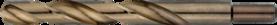 Spiraalboor standaard DIN 338- 11.413 - met afgedraaide cil. schacht' gewalste uitvoering' tophoek 118°