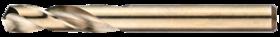 Plaatboor dubbelzijdig- 11.145 - cil. schacht' extra korte geslepen uitvoering' met kruisaanslijping vanaf 2'5 mm' tophoek 135°