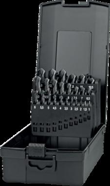 Toonbankstandaard- 19.105 - kunststofuitvoering' voor spiraalboren volgens DIN 345-N